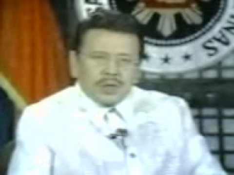 President Joseph Estrada's Address to the Nation about the economic problems of the nation (2 of 2)