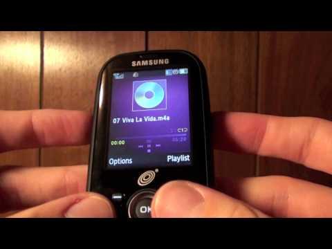 Samsung SGH-S425G Video clips