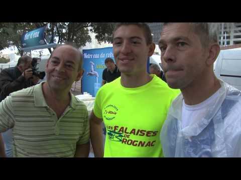 Marseille-Cassis 2014 / L'hydratation des sportifs avec la Société Eau de Marseille Métropole