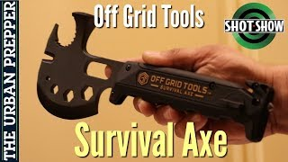Survival Axe by Off Grid Tools | Shot Show