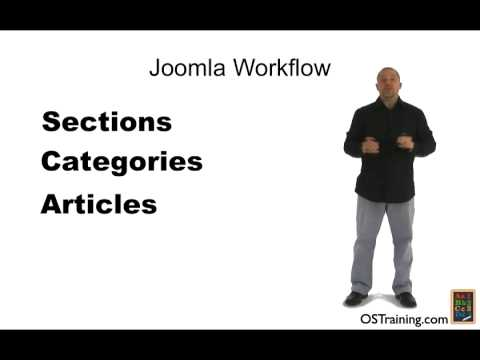 Joomla Training - Sections, Categories, Articles