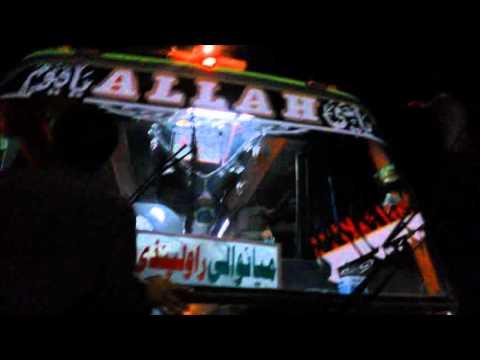 Pakistan India Bus Punjab Bandial Sargodha Multan Khushab Harnoli video