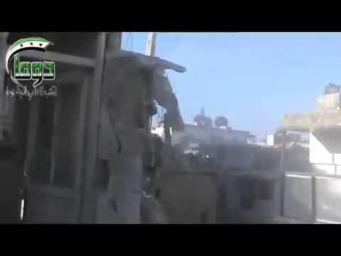 Syria | Douma | Regime's Air Strike on Residential Buildings | Feb 4, 2013