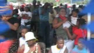 Junie Gedeon Sings The Haitian National Anthem