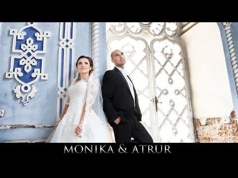 Monika & Artur - Teledysk ślubny - Sala Pod Różą , Wojska - Www.art-foto-video.pl