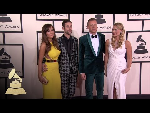 Macklemore & Ryan Lewis: 56th GRAMMY Red Carpet Fashion Cam | GRAMMYs