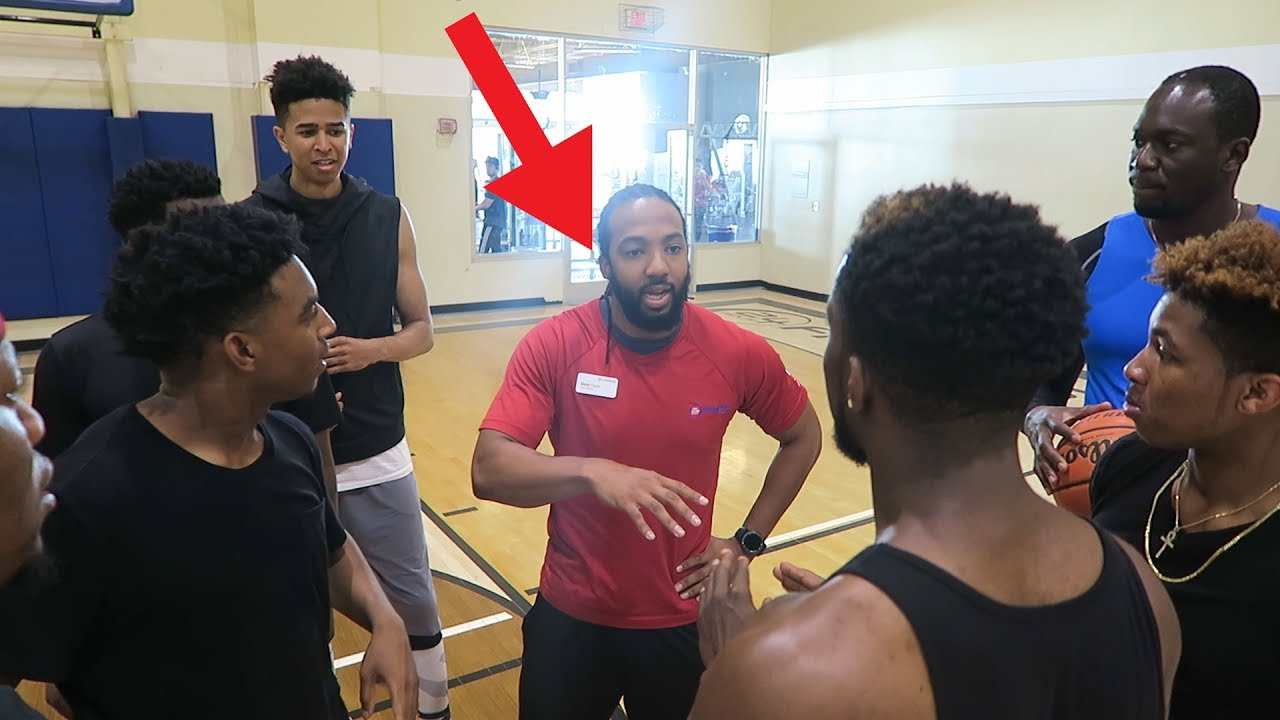 3 VS 3 BASKETBALL GONE WRONG! 24 HOUR FITNESS CALLED THE POLICE AND KICKED US OUT! Zias Poudii DDG