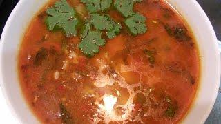 Как приготовить Мампяр(Уйгурский суп с тестом)