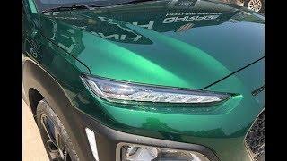 Xe Hyundai Kona màu sơn độc xuất hiện tại Việt Nam