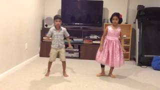 Mahil First Dance[Singam Dance]