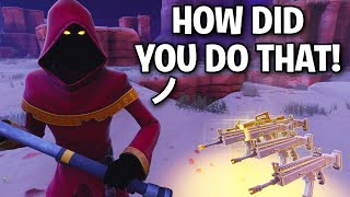 I BROKE his Floor with a JACK O LAUNCHER!! 😱😱 (Scammer Get Scammed) Fortnite Save The World