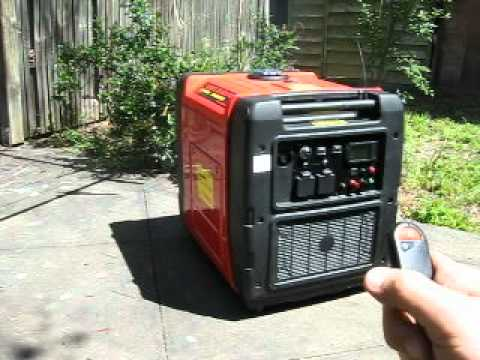 Digital inverter generator diesel 6 8kva youtube for Honda vs yamaha generator