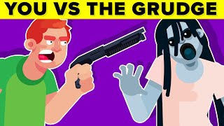 YOU vs THE GRUDGE - Could You Defeat and Survive Her? || FUNNY ANIMATION (The Grudge Horror Movie)