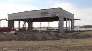 Hangar #40 coming down 3/29/2013