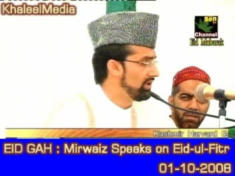 Mirwaiz Address  People At Eid Gah on Eid-ul-Fitr Occcasion