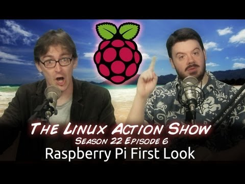 Raspberry Pi First Look | LAS | s22e06