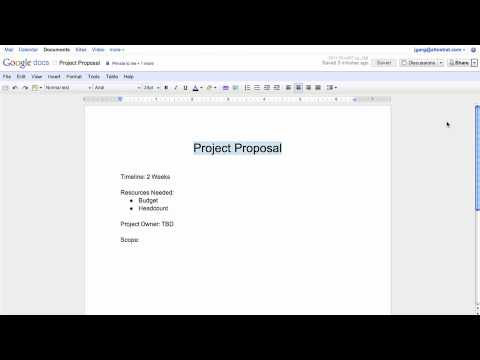 Google Docs Overview