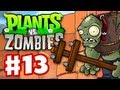 Plants vs. Zombies - Gameplay Walkthrough Part 13 - World 5 (HD)