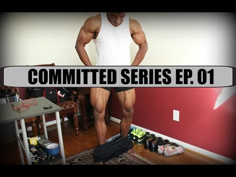 Committed Series Ep. 01 | Building Huge Legs & Road To Jr. USA's