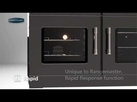 Rangemaster Range Cookers - Rapid Response Function
