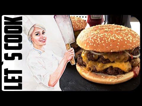 ✿ LET`S COOK ✿ Двойной Чизбургер  ♥