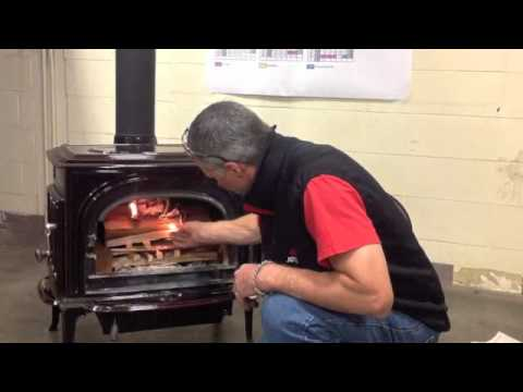 How to build a fire in a jotul wood stove