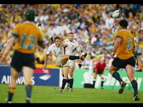 Jonny Wilkinson's drop goal to win Rugby World Cup 2003