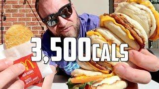McDonald's Big Breakfast Challenge