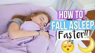 How to Fall Asleep Faster! 10 Life Hacks Everyone Should Know!