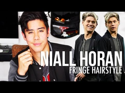 NIALL HORAN: FRINGE HAIRSTYLE TUTORIAL (MEN'S HAIR 2015)   JAIRWOO