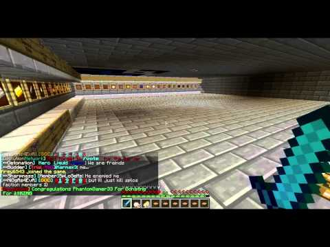 Minecraft 1.5.2 Server: EvolutionPvp (Factions. Pvp. Raiding. loads more plugins)