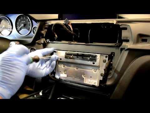 BMW F30 radio professional navigation removal 3 series