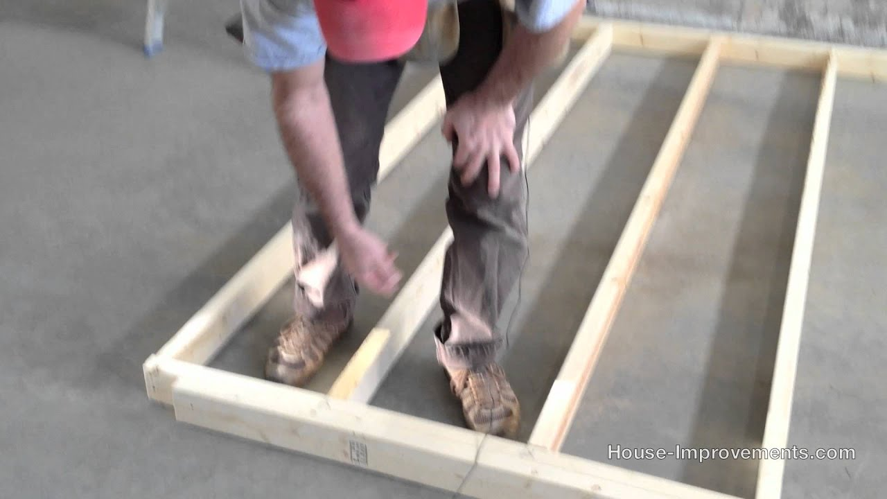 Wood Stud Wall Framing Youtube