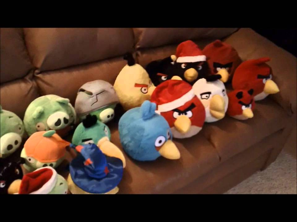 All Angry Birds Plush Toys : My complete angry birds plush toy collection youtube
