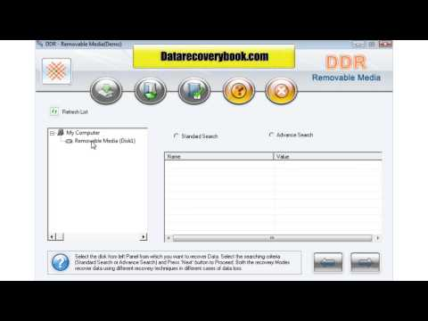 Data Doctor DDR digital usb removable media pictures photos files data recovery restore software