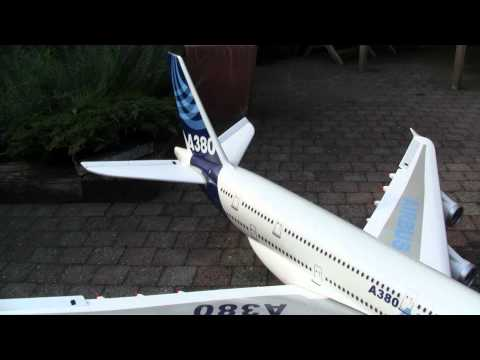 airbus a380 RC plane, first test