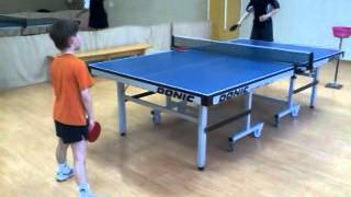 Topspin training