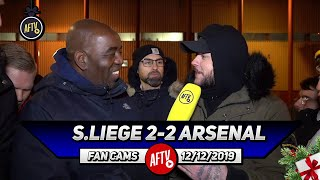 Standard Liege 2-2 Arsenal | Saka Stood Up & Showed Fight! (DT)