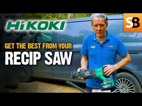 What people get wrong with a  Recip Saw-  HiKOKI