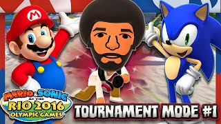 Mario & Sonic at the Rio 2016 Olympic Games - Wii U - Tournament Mode Part 1