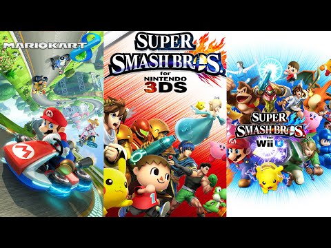 Super Smash Bros. for Wii U & Nintendo 3DS, Mario Kart 8 (4-18-15 Livestream) - Wii U & 3DS