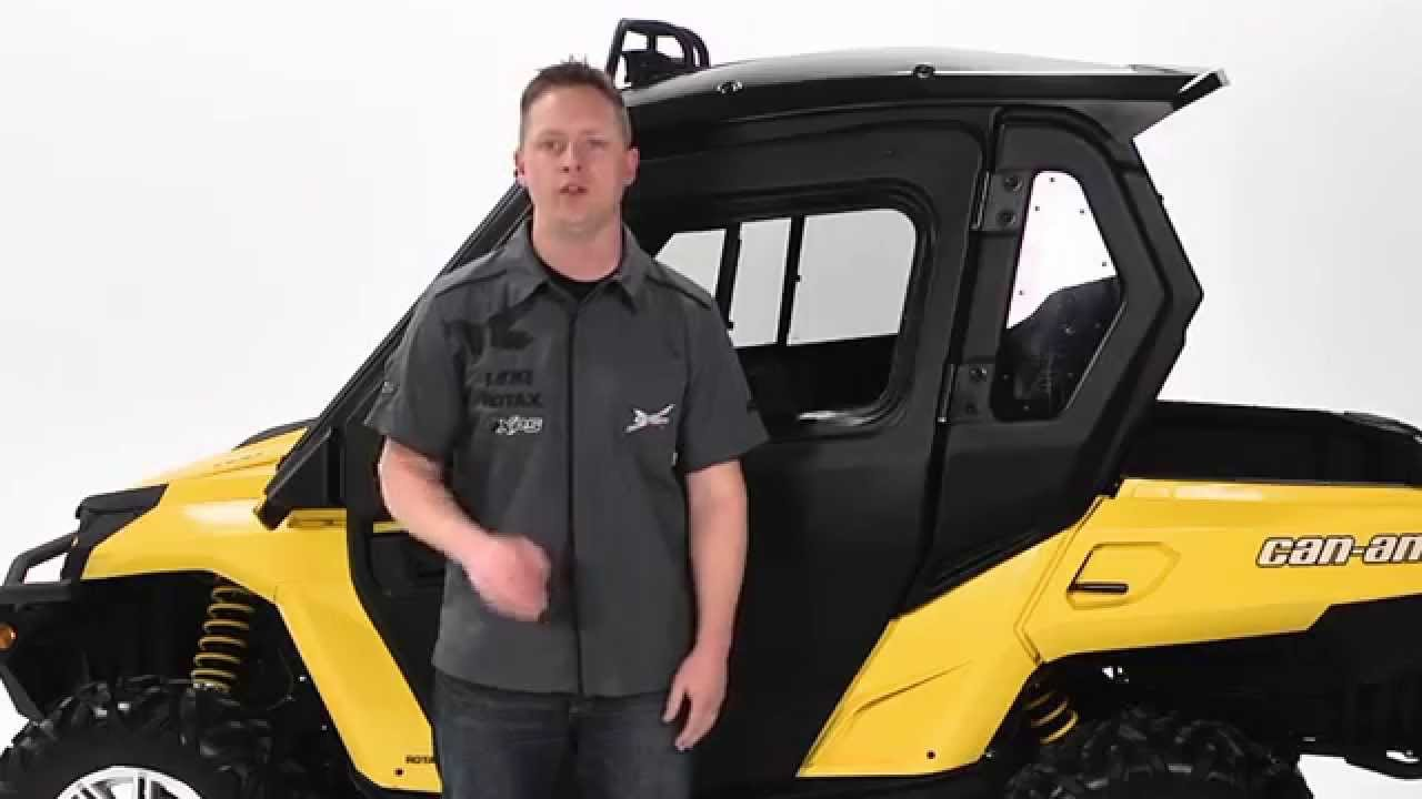 Cab Enclosure For Can Am Commander Side By Side Vehicles