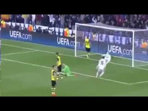 Real Madrid vs Borussia Dortmund 3-0 Liga Champion 2014  -  03-04-2014  -  Highlights Gol