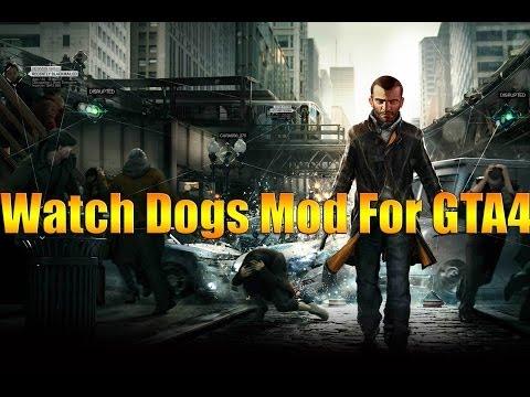 Watch Dogs Мод для GTA 4