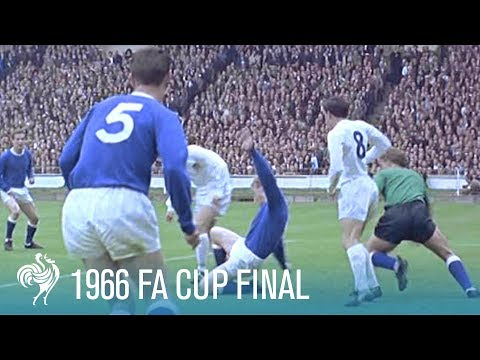1966 FA Cup Final: Everton vs Sheffield Wednesday   British Pathé