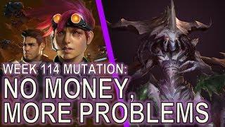 Starcraft II: No Money, More Problems [Top Bar Solo]