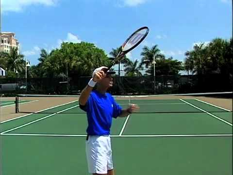 The Serve: Keep Your Palm Down