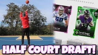 I Can Only Draft a Player if I make the Half Court Shot?? Madden 19 Mut Draft
