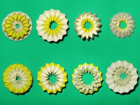 "Origami ""Kaleidoscopic Twister"" by Charles ""Doc"" Santee (Part 1 of 2)"