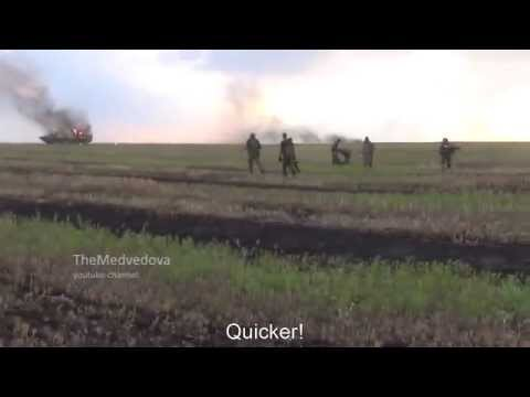 Failed Attack Of Russian Terrorists On Ukrainian Armed Forces. (English subtitles)